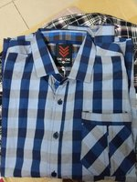 Used SHIRT ONE 90ONE. DARK BLUE. SIZE M in Dubai, UAE
