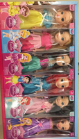 Used girl doll set 6 pcs  in Dubai, UAE