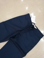 Used LACOSTE PANTS  BLUE REGULAR FIT W 38 in Dubai, UAE