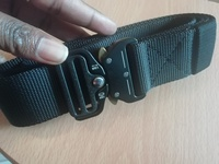 Used Tactical strong nylon belt black in Dubai, UAE