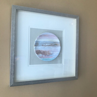 Used Ceramic Plate Art Frame 50cm x 50cm in Dubai, UAE