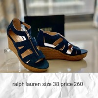 Used Ralph lauren wedges new in Dubai, UAE