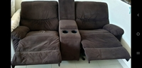 Used 2 seater rocking Recilner with cups hold in Dubai, UAE