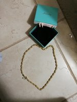 Used Golden gents necklace in a box in Dubai, UAE