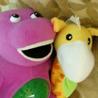 Used Barney Soft Toys in Dubai, UAE