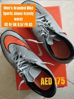 Used ORIGINAL Nike Men's sports shoes in Dubai, UAE