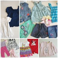 Used Baby Girl clothes 6-18 months 20 pieces. in Dubai, UAE