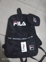 Used Fila bagpack black in Dubai, UAE
