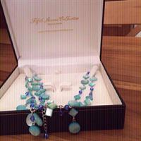 Turquoise Necklace - Natural Stones