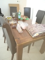 Used Dining table with  6 chairs. in Dubai, UAE