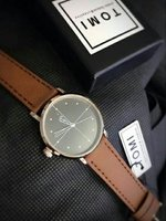 Used Leather Watch TOMI Original ° New wd BOX in Dubai, UAE