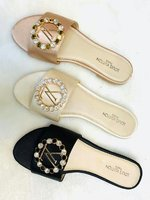Used LV Flat Sandals New Collection! ! in Dubai, UAE
