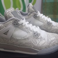 Used Air Jordan 4 Retro Laser in Dubai, UAE
