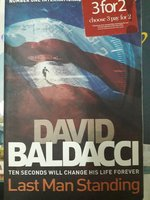 Used Book Last man standing by David Baldacci in Dubai, UAE