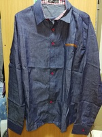 Used New blue semi formal shirt for him in Dubai, UAE