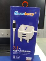 Used Smart berry 3.1A Fast Charger in Dubai, UAE