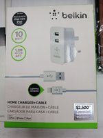Used Belkin home charger plus cable in Dubai, UAE