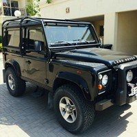 Used 2010 Landrover Defender 90,GCC2.4 Ltr Turbo Diesel120BHP Black ExteriorBlack Cloth Interior99,000kmWell maintained vehicle with many extras added. Owned by a British Expat and Defender enthusiast. A great truck, which is being sold reluctantly to make way for something more family friendly. No dealers, no silly offers, we are not in a hurry to sell. Serviced with Landrover, AAA Service Centre and Saluki Motor Sports Extra FittedWarn Winch Bumper9,000lbs Warn Winch2inch Terra Firma Lift Kit + 2 Inch Spacers Man-tech Spare Wheel Cradle Safety Devices Full External Roll CageFactory Fitted Tow BarFactory Fitted Underbody Steering ProtectorFactory Fitted Spot LightsTop Spec 3M window tintFull Underbody Rust ProofingBlack Checker plate Kitnew tire all 5BAS Systems ReMap (Includes console to switch between factory settings and BAS Map)Price: AED125,000 in Dubai, UAE