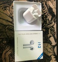Used Best selling airpods white i12 in Dubai, UAE