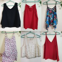 Used Sleeveless tops bundle in Dubai, UAE