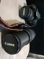 Used Canon 500d two lenses and all accessorie in Dubai, UAE