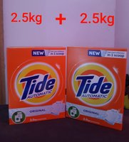 Used Tide 2.5kg (2 piece in Dubai, UAE