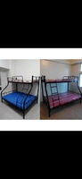 Used Double decker bed for sale with Metrases in Dubai, UAE