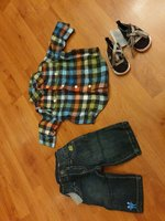 Used Baby boy sets 3 items in Dubai, UAE