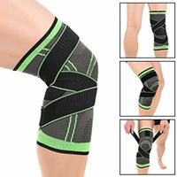 Used 3D knee compression pad, green ! in Dubai, UAE