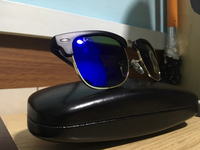 Used Rayban Thick Frame (Blue) in Dubai, UAE
