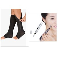 Used Massage Pen & compression socks 2 pcs in Dubai, UAE