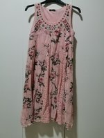 Used Pink with pink crochet women dress in Dubai, UAE