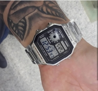 CASIO Steel illuminator ▪Original Watch