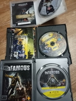 Used Ps3 Assassin creed+Stormrise+Infamous in Dubai, UAE