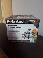 Used Aluminium pressure cooker 3litre new😀😀 in Dubai, UAE