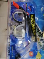 Used Diving mask/snorkel set in Dubai, UAE