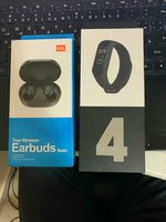Bundle offer wireless earbuds & m4 band