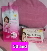 Used BRILLIANT SUNSCREEN AND KOJIC SOAP in Dubai, UAE