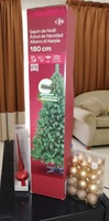 Used Christmas tree with decorations and ligh in Dubai, UAE