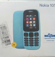 Used Nokia 105 single sim blue open box in Dubai, UAE