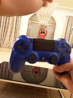 Used Blue controler for ps4 in Dubai, UAE