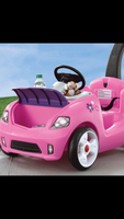 Pre loved-Pink push car for baby