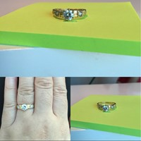 Used 18K Italian Gold Ring Pawnable Size 6-6.5 Fits in Dubai, UAE