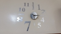 Used Wall Clock (Sticker) in Dubai, UAE