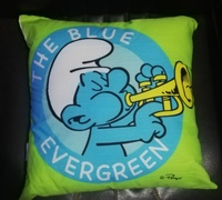 Used Smurf Throw Pillow01 in Dubai, UAE