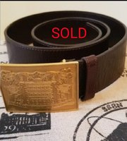 Used Fendi   BROWN LEATHER BELT AUTHENTIC in Dubai, UAE