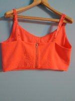 Used Zipped Crop top in Dubai, UAE