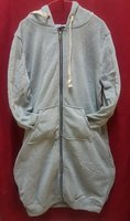 Used Plain Pocket Long Sleeve Grey Jacket in Dubai, UAE