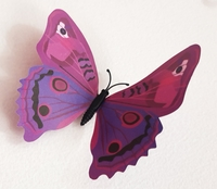 Used 3D Butterfly Wall Decor Sticker in Dubai, UAE