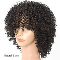 Used Beautiful curly hair black wig in Dubai, UAE
